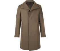 Mantel mit breitem Kragen
