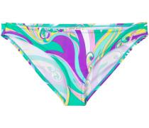 Bikinihöschen mit abstraktem Print