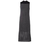 Mittellanges Kleid mit Stehkragen
