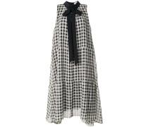 Ausgestelltes Kleid mit Vichy-Karo