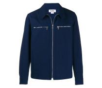 A.P.C. Hemdjacke mit Reißverschluss