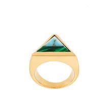 'Rainbow' Ring mit Steinpyramide