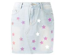 Jeansrock mit Sternen