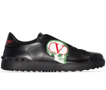 x Undercover Sneakers mit Logo-Patch