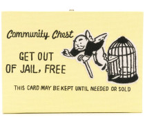 'Get out of Jail, free' Clutch