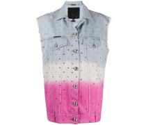 Jeansweste mit Farbverlauf