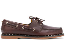 'Rockstud' Derby-Schuhe