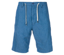 Chambray-Shorts mit Kordelzug