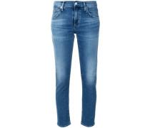 'Elsa' Cropped-Skinny-Jeans
