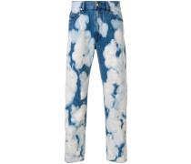 'D-Jifer-Z' Jeans mit Acid-Wash-Effekt