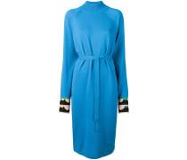 Kleid mit Kontrastmanschetten