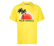 T-Shirt mit Sonnenuntergang