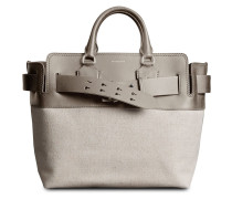 The Medium Canvas and Leather Belt Bag