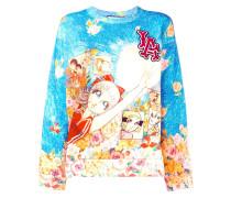 Sweatshirt mit Sailor-Moon-Print