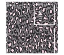 Schal mit Leoparden-Pirnt