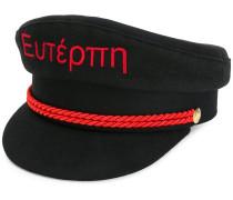 front message hat