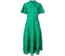 Kleid mit Palmblättern