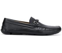 logo pendant loafers