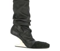 Stiefel mit Wedge-Absatz
