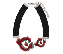 Halskette mit Blumenanhänger