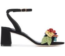 Lilico floral-appliquéd sandals