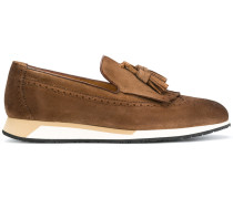 wedge sole loafers