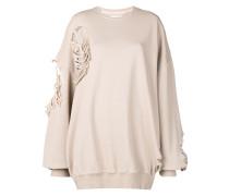 Oversized-Sweatshirt im Distressed-Look