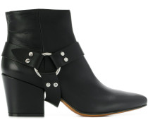 adjustable strap ankle boots