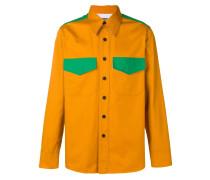 Western-Hemd in Colour-Block-Optik