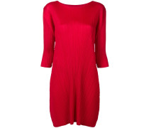 three-quarter sleeved dress