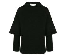 Oversized-Pullover im Hybrid-Look
