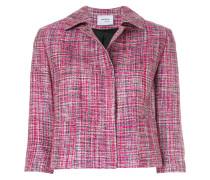 Cropped-Jacke aus Maulbeerseide
