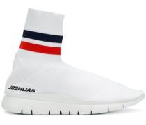 Sock-Sneakers mit Streifen