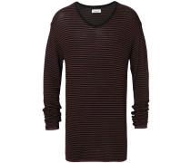 Gestreiftes Kaschmir-Sweatshirt