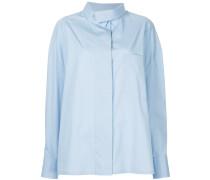 oversize chest pocket shirt