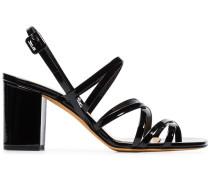 'Ira' Sandalen aus Lackleder