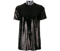 sequin embellished T-shirt