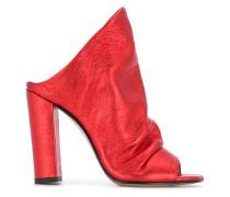 structured slip-on sandals