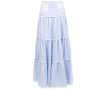 Lune linen skirt
