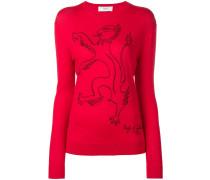 Pullover mit Löwe-Print