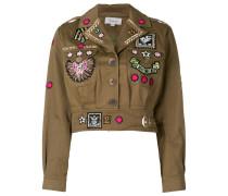 Memento cropped jacket