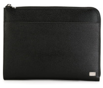 textured leather pouch - Unavailable