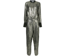 'Barbara' Jumpsuit im Metallic-Look