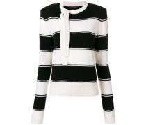 Wollpullover mit Streifen