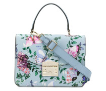butterfly print Fiordaliso bag