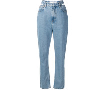 Jeans mit Cut-Out
