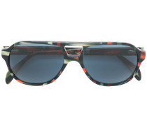 patterned aviator sunglasses