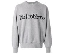 "Sweatshirt mit ""No Problemo""-Print"