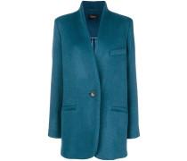 one-button blazer