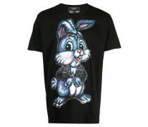 'Jumper' T-Shirt mit Kristallen